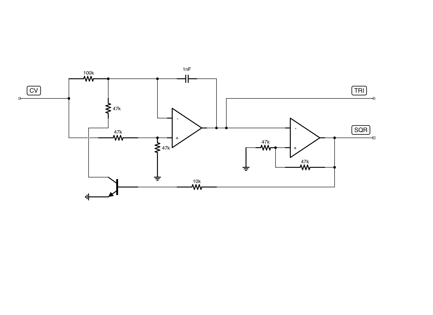 What's the simplest triangle core VCO? : synthdiy on gps schematic, ups schematic, lcd schematic, usb schematic, schmitt trigger schematic,